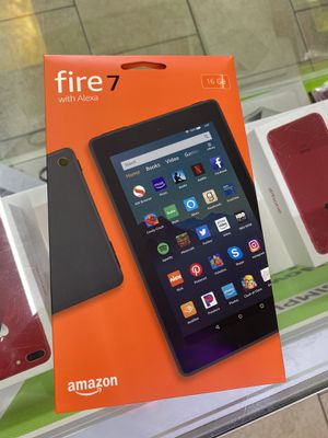 Amazon Fire 7 tablet new sealed for Sale in Houston, TX