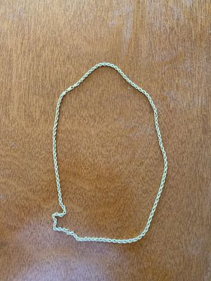 14K Gold Rope Chain for Sale in Tacoma, WA