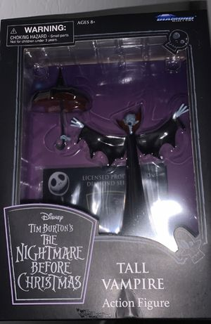 Tall Vampire Action Figure (The Nightmare Before Christmas) for Sale in Gilbert, AZ