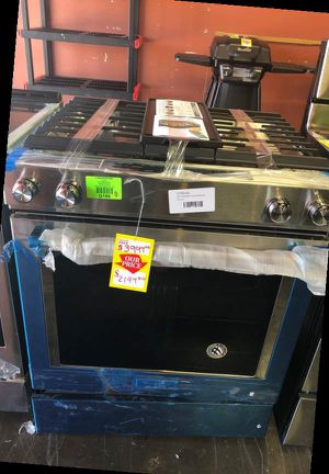 KitchenAid Stainless Steel Gas Slide-In Stove 3SB for Sale in Arcadia, CA