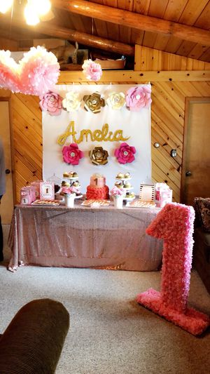 Decorations for a girls birthday for Sale in Pittsburgh, PA