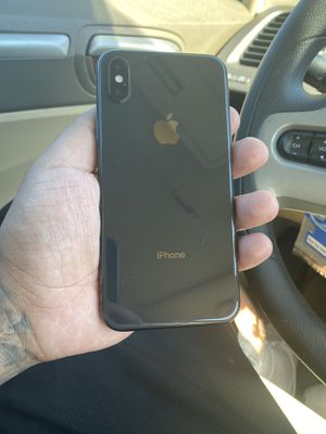 iPhone X 64gb unlocked Space Gray for Sale in Selma, CA