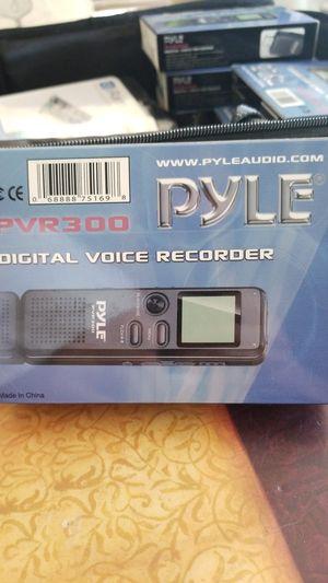 Pyle digital voice recorder for Sale in Audubon, PA