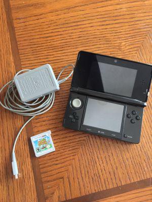 Nintendo 3DS 1st Gen Black with Animal Crossing New Leaf for Sale in St. Petersburg, FL