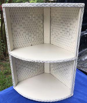 little wicker corner shelf for Sale in Shenandoah, TX