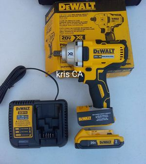 Dewalt xr mid torque impact wrench kit for Sale in La Puente, CA
