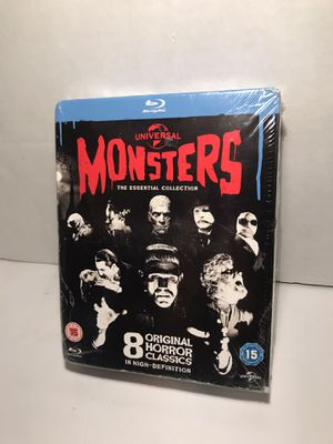 Monsters Blu-Ray DVD collection for Sale in Grand Prairie, TX