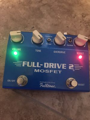Mosfet Full-drive 2 guitar pedal - overdrive for Sale in Phoenix, AZ