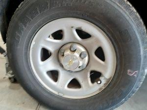 2014 Chevy Silverado Rims And Tires for Sale in Elverta, CA