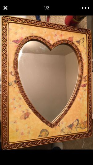 Framed Heart Mirror for Sale in Aloha, OR