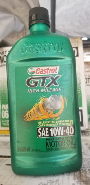 Castrol High mileage for Sale in Ontario, CA