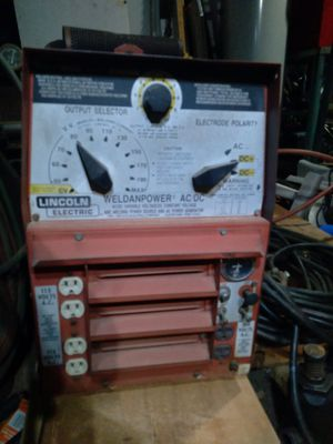 Lincoln weld power 225 portable welder for Sale in El Cajon, CA