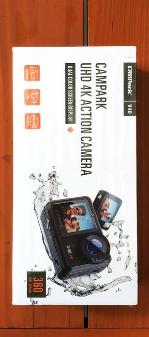 BRAND NEW 4K/30FPS 20MP Waterproof Action Camera WiFi Dual Touch Screen Remote Control Vlog Camera Webcam 2X 1350mAh Batteries + Mounting Accessories for Sale in Rancho Cucamonga, CA