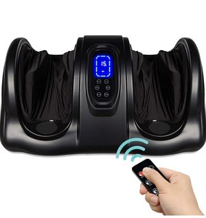 Shiatsu Kneading and Rolling Foot Massager with Remote - Black for Sale in Hacienda Heights, CA