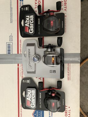 3 brand new and unopened baitcast fishing reels for Sale in Peoria, AZ