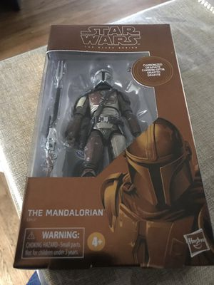 Star Wars The Black Series The Mandalorian Toy Figure for Sale in Hayward, CA