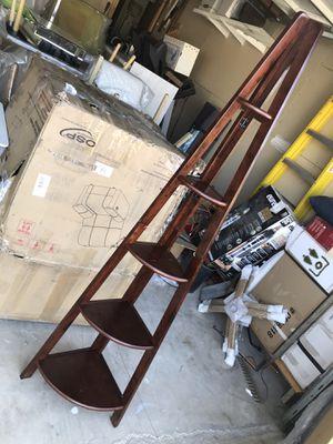 Corner ladder bookcase for Sale in Moreno Valley, CA
