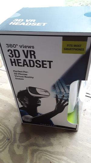 3D VR headset for Sale in North Chesterfield, VA