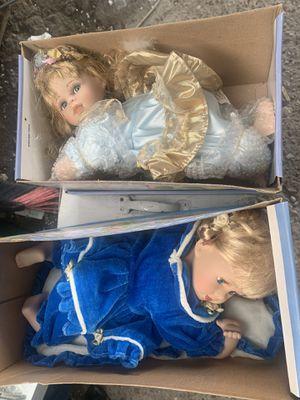 Muñecas de porcelana nuevas for Sale in Houston, TX