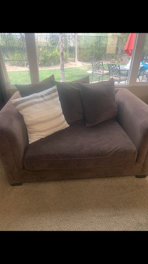 Chair, Loveseat, Ottoman and Couch sold as set for Sale in Corona, CA