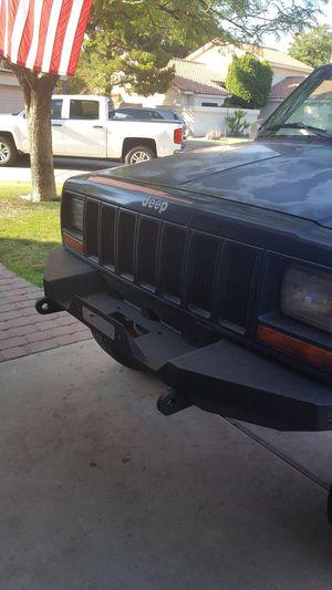 Jeep Cherokee steel bumper for Sale in Chandler, AZ
