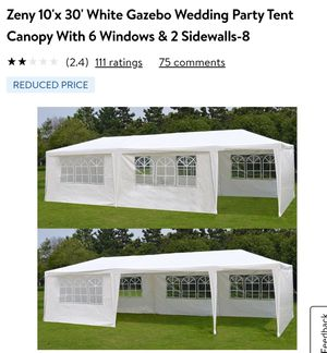 10×30 Tent , 10×30 carpa for Sale in Anaheim, CA