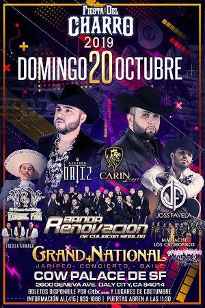 Fiesta del charro 2019 cow palace October 20 2019 for Sale in Concord, CA
