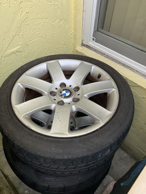 Bmw rims for 3 series for Sale in Miami, FL