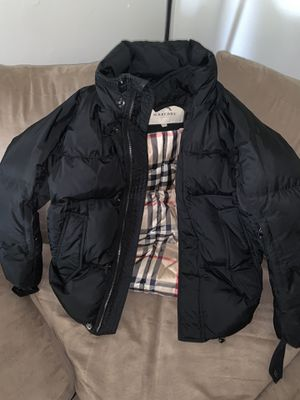 Black Burberry Puffer Jacket Men's for Sale in Virginia Beach, VA