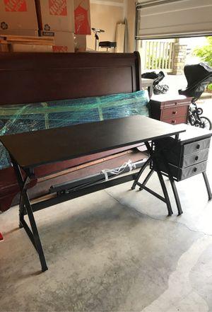 Office desk + self for Sale in Renton, WA