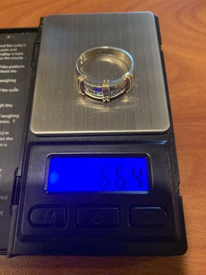 14kt white gold/yellow gold men's ring 7 for Sale in Westerville, OH
