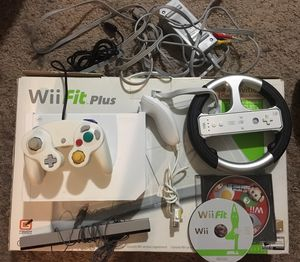Nintendo Wii with Wii fit plus and more for Sale in Monroe, WA