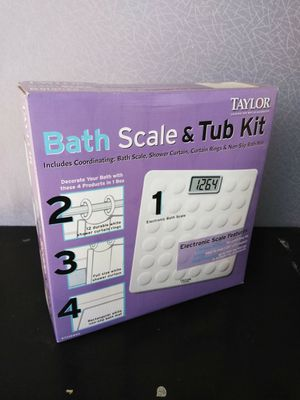 Bathroom Kit and Scale for Sale in Plano, TX