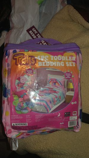 Trolls bedding set for Sale in Dallas, TX