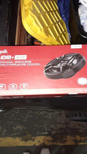 New Polk 300 Watt 6.5 Marine Grade Speakers for Sale in Salt Lake City, UT