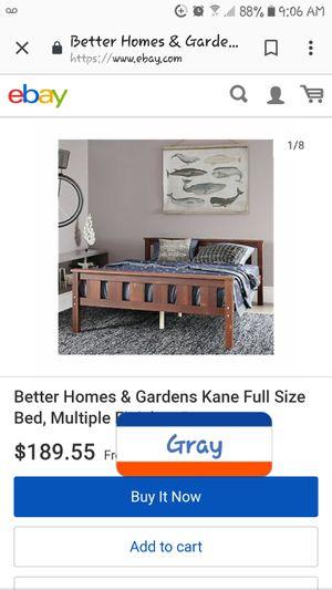 Full size bed frame for Sale in Ranger, TX