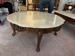 Antique Marble Coffee Table for Sale in Washington, DC