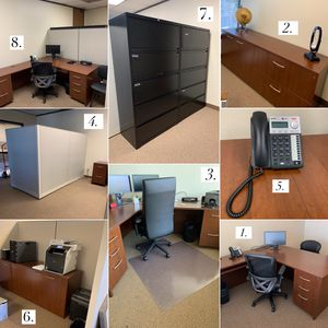 OFFICE FURNITURE (practically new) for Sale in Walnut Creek, CA