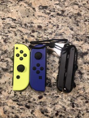 Nintendo switch joycons (L) (R) Neon blue/yellow for Sale in Brockton, MA