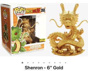 Shenron Gold funko dragon ball Z for Sale in Leander, TX