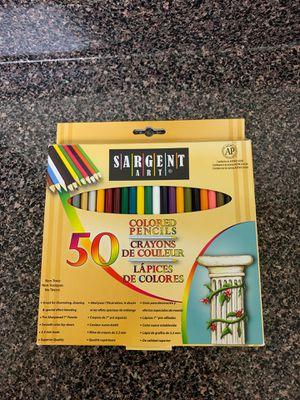 New 50 colored pencils for Sale in Hyattsville, MD