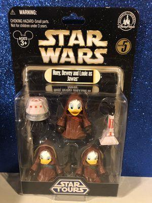 Star Wars Jawas Huey Dewey Louie Disney Star tours for Sale in Massapequa, NY