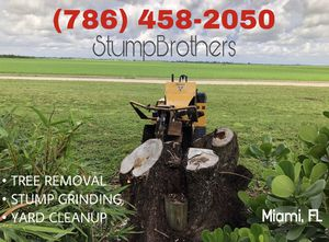 STUMP GRINDING || TREE REMOVAL 🍃 for Sale in Miami, FL