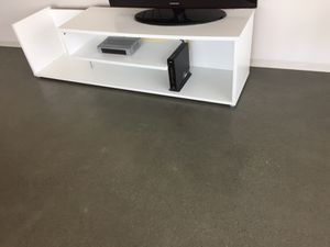 White modern tv stand for Sale in San Francisco, CA