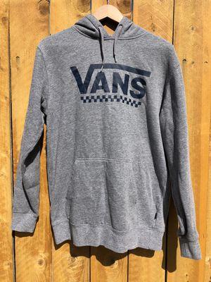 Vans Grey Logo Hoodie Men's Small for Sale in Los Angeles, CA