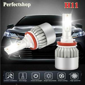 H11/H8/H9 Car LED Headlight Lamp Light Hi/Lo Beam 6000K 72W 7600LM White Plug for Sale in Baldwin Park, CA