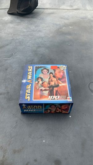 Star Wars Puzzle game 100 pics family fun for Sale in Orange, CA