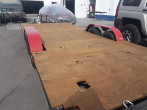 25ft Utility Trailer with 4 wheel Brakes for Sale in San Diego, CA