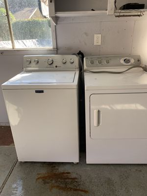 Centennial washer ge dryer both large capacity washer is water saver by weight for Sale in Dearborn Heights, MI