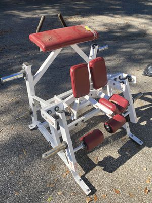 Hammer strength iso kneeling leg curl gym equipment for Sale in FL, US